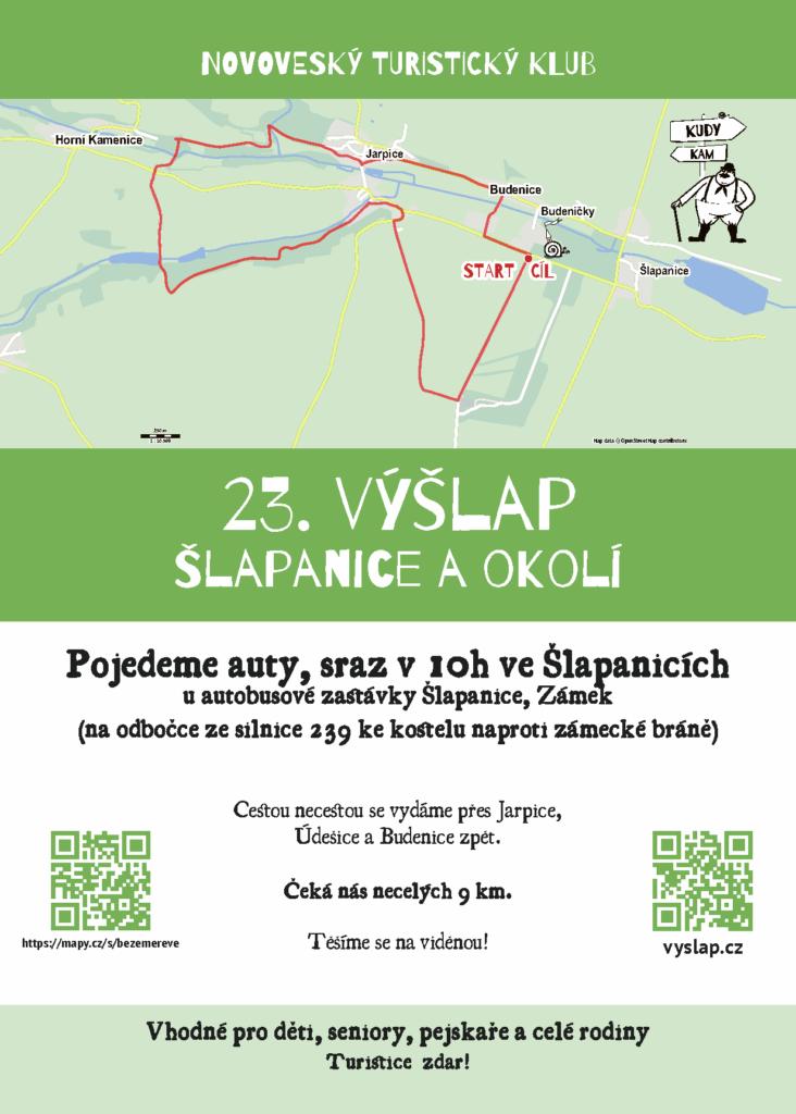 Plakát 23. výšlap
